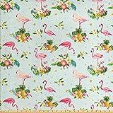 Lunarable Flamingo-Stoff von The Yard, Flamingo-Vogel,