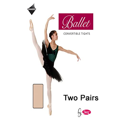 1b5406741a0 2 Pairs Silky Adult Womens Convertible Dance Ballet Tights 2 Pairs