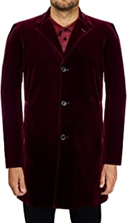 capaldi velvet coat