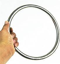 Anello da allenamento in acciaio inossidabile Forza di polso Flessibilit/à delle mani Anello di allenamento Wing Chun Kungfu Allenatore di arti marziali