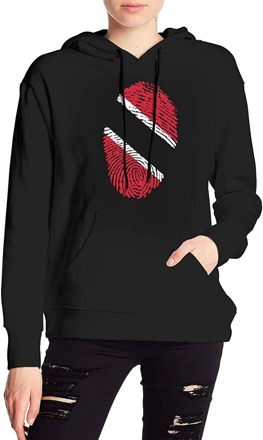 Flag Of Trinidad And Tobago Sweater Fashion Hoody With Pocket For Men'S Women'S