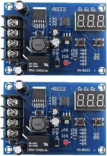 Carga De La Batería Junta Xh-m603 12-24 Carga Interruptor De Control De Voltaje Protección De Pantalla 2pcs Componentes De...