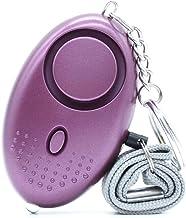 Persoonlijk alarm voor noodgevallen, zakalarm, 130 dB safesound alarm met ledlicht voor kinderen/vrouwen/senioren/studente...