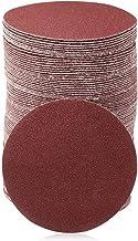 ZHTY 100 Piezas de Discos de Lijado de 3 Pulgadas de Papel de Lija 2000 Discos de Lijado de Gancho y Bucle para Herramientas rotativas de Amoladora de perforación sin Orificio