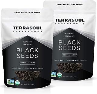 Terrasoul Superfoods Organic Black Cumin Seeds (Nigella Sativa), 2 Lbs - Digestive Health | Immunity