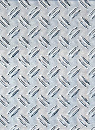 GAH-ALBERTS 466725 - Estructura de chapa - corrugado estampado, aluminio, 300 X 1000 X 1.5 Mm