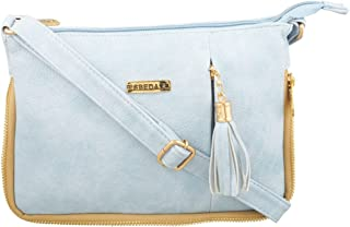 ESBEDA Solid Pu Synthetic Fabric Slingbag For Women