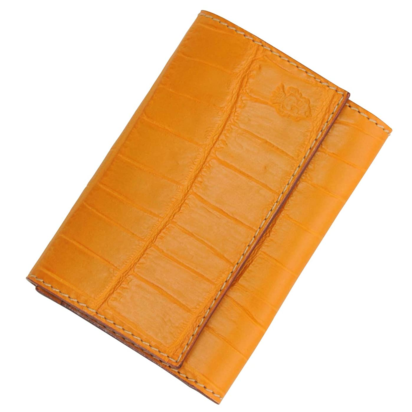 思われる万一に備えて破壊的(フェリージ) felisi 国内正規品 450/SA ユニセックス カードケース マンゴ クロコ型押しレザー