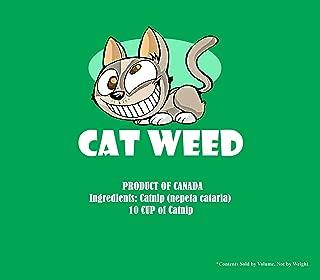 Cat Weed Catnip has Maximum Potency Premium Blend Nip That Your Cats to Go Crazy Over
