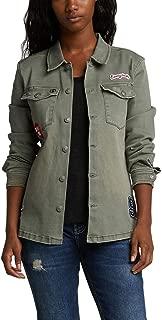 Silver Jeans Co. Women's Stretch Twill Shirt Jacket