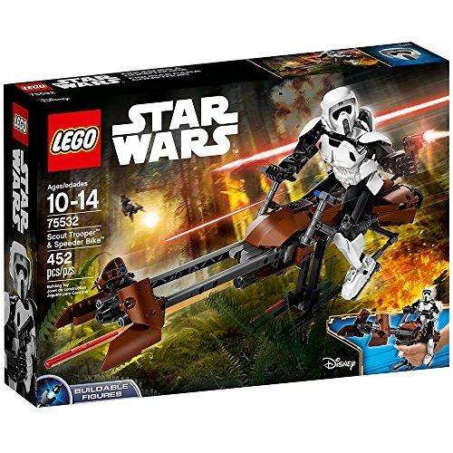 LEGO Star Wars 75532 Scout Trooper und Speeder Bike