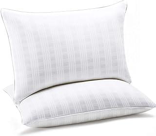 SEPOVEDA Oreiller 65x50cm Lot de 2, Oreiller Premium Cervical, Oreiller Anti-Acarien, Garnissage 100% Fibre de Polyester, ...