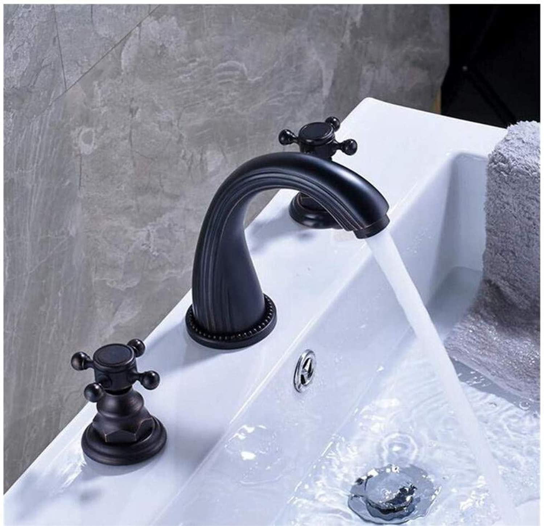 Taps Dual Cross Knob Bathroom Lavatory Lavatory Lavatory Sink Faucet 7ff32b