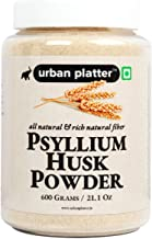 Urban Platter Psyllium Husk Powder (Isabgol Atta), 600g / 21.1oz [All Natural, High-Fiber & Easily Soluble]