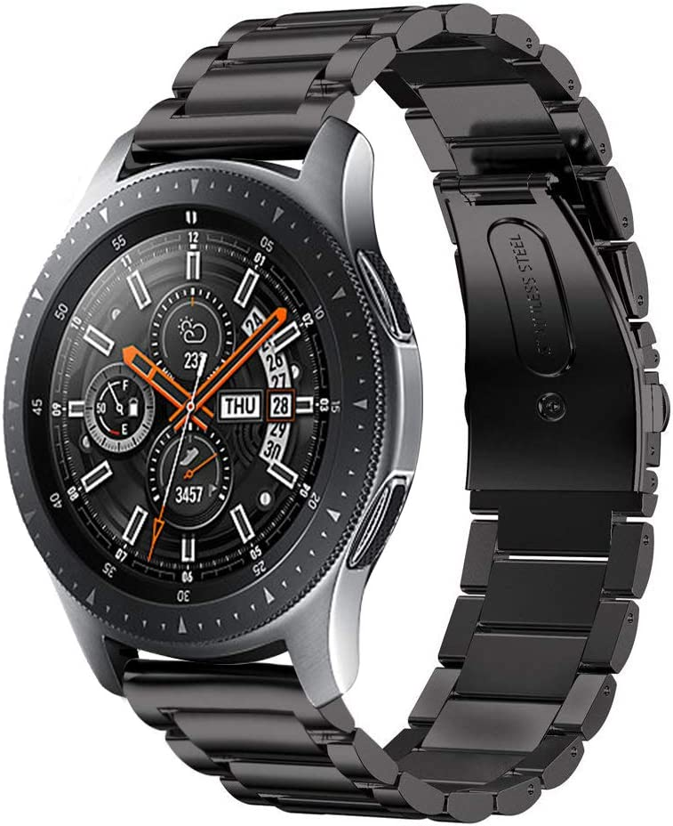 Malla Metalica Para Samsung Galaxy Watch 46mm negro