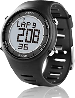 Digital Sport Watch Ultra-Thin Outdoor Running Black Red Blue Watch L008