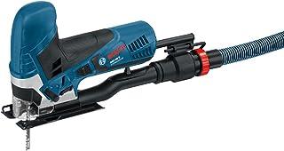 Bosch Professional GST 90 E - Sierra de calar (650 W, profundidad de corte en madera 90mm, maletín)