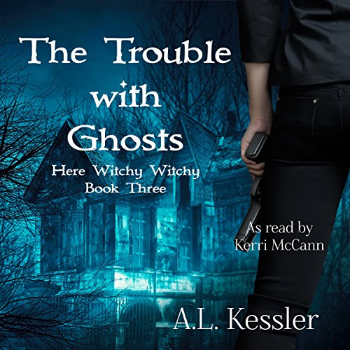 The Trouble with Ghosts audiobook cover art
