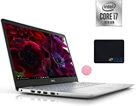 Dell 2020 Inspiron 15.6'' FHD Business Laptop, Intel i7-1065G7, 32GB DDR4 RAM, 512GB PCIe NVMe SSD + 1TB HDD, HDMI, Wireless-AC, Backlit Keyboard, FP Reader, Silver, KKE Mouse Pad, Windows 10 Home