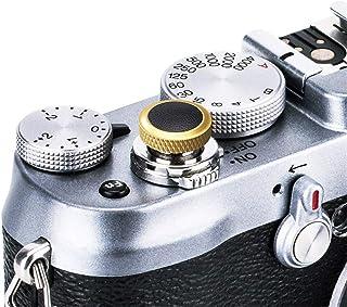 JJC ソフトカメラシャッターリリースボタンキャップ 富士フィルム X-T4 X-T3 X-T2 X-T30 X-T20 X-T10 X-Pro3 X-Pro2 X-Pro1 X100V X100F X100T X100S X-E3 Sony ...