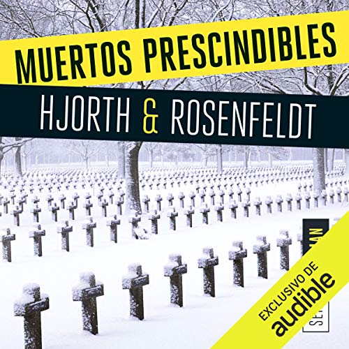 Muertos prescindibles audiobook cover art