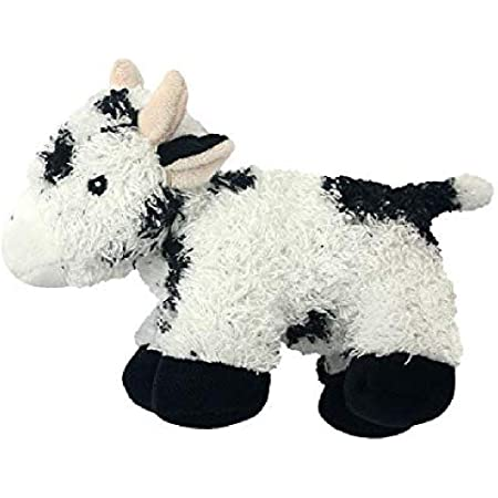 Multipet Look Who's Talking Cow Dog Toy, 7'' x 4'' Dog Toy (27006)