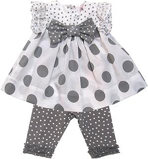 Monnalisa Dress & Legging Set