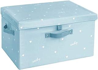 Lpiotyucwh Paniers et Boîtes De Rangement, Boîte de rangement de grande capacité ménagère, boîte de rangement de vêtement...
