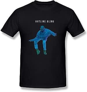 WunoD Men's Hotline Bling Dance Drake T-Shirt