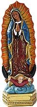 Vår Fru av Guadalupe Jungfru Maria Staty, Skulptur Harts Statyett Present Xmas Display Dekor Prydnad av Maria Mexiko Katol...