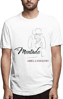 Men's Camacho Ariel-Print Short Sleeve Classic Comfort Soft Crewneck T-Shirt