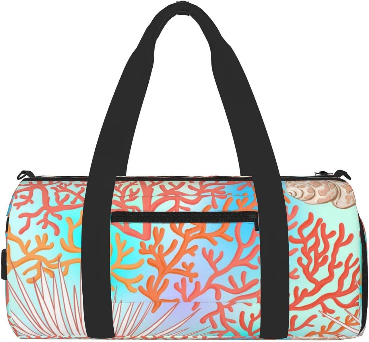 Reindeer Horn Gym Bag For Travel Max 57% OFF Unisex New York Mall Overni