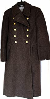Soviet USSR Russian Military Army Officer Wool Overcoat - Shinel Brown