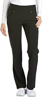 iflex Women's Mid Rise Straight Leg Pull-On Scrub Pant