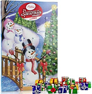 Madelaine Chocolates Christmas By The Creek 2019 Countdown Advent Calendar, Filled With (8 oz - 226 g) Solid Premium Milk Chocolate Presents (1 Pack)