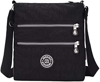 Women's Casual Zippers Nylon Bags Crossbody Bags,FBUBC207514