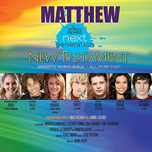 (24) Matthew, The Word of Promise Next Generation Audio Bible audiobook cover art