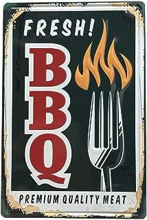bbq tin signs