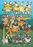 2021 Pokemon Agenda Giornaliera: Agenda Settimanale Taccuino Giornaliero Organizzatore con Calendario