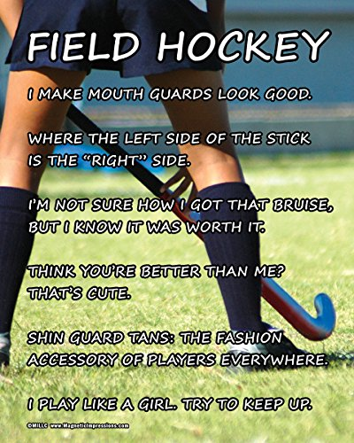 "Unframed Field Hockey Player 8"" x 10"" Sport Poster Print"