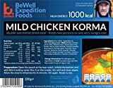Extreme Expedition alimentos leve pollo Korma 1000 Kcal