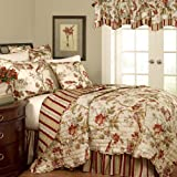 Waverly Charleston Reversible Quilt Collection, Full/Queen, Multi