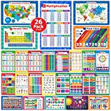 26 Set of 50 Educational Posters for Kids -...