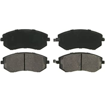 Wagner QuickStop ZD929A Ceramic Disc Pad Set, Front