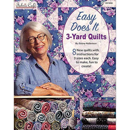 Fabric Cafe Easy Does It 3 Yard Quilt Bk, Brown