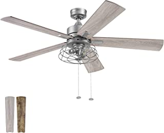 Prominence Home 51458-01 Marshall Ceiling Fan, 52, Pewter
