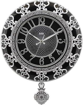 ヨーロピアンスタイルのリビングルームレトロアート時計ミュート時計クリエイティブリンクテーブルクォーツ時計ファッションミュート