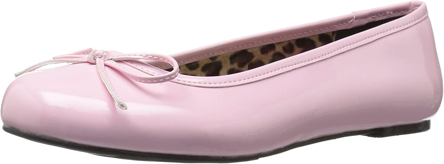 Pleaser Womens Anna01 Bp Ballet Flat