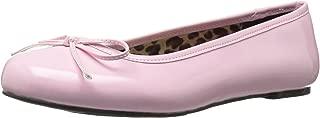 Women's Anna01/Bp Ballet Flat, B Pink Str Patent, 15 M US