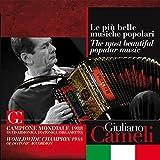 Le più belle musiche popolari (Campione mondiale 1988 di fisarmonica diatonica organetto)